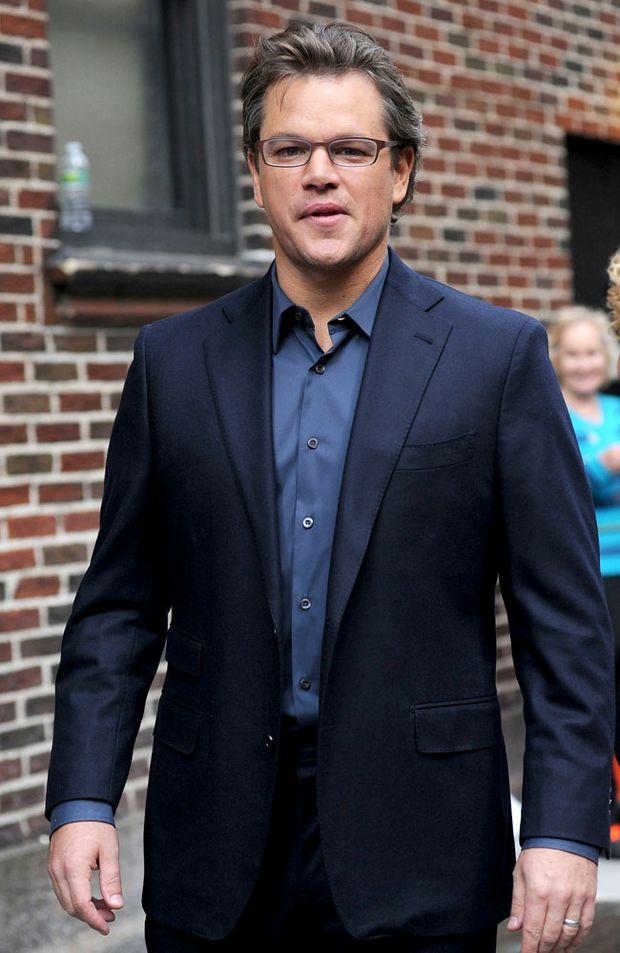 Matt Damon shares prank details between Brad Pitt and George Clooney.