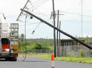 UPDATE: Power lines down, traffic diversions in place