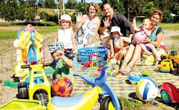Natalie (left) and Todd Casten are building a childcare centre at Parklands Estate, Bli Bli.