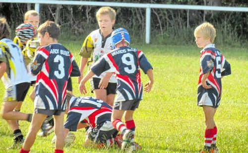 Lower Clarence youngsters show their talent on the field at Yamba last weekend.