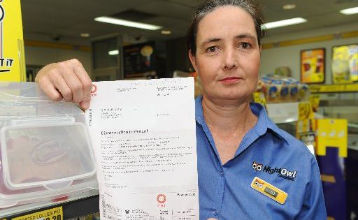 Night Owl Meridian Downs owner Jo McNeill is angry about Origin energy's $30,000 power bill. Photo Che Chapman / Sunshine Coast Daily