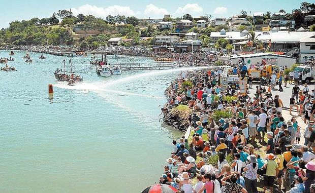 The annual week-long Gladstone Harbour Festival draws crowds from all over Australia.