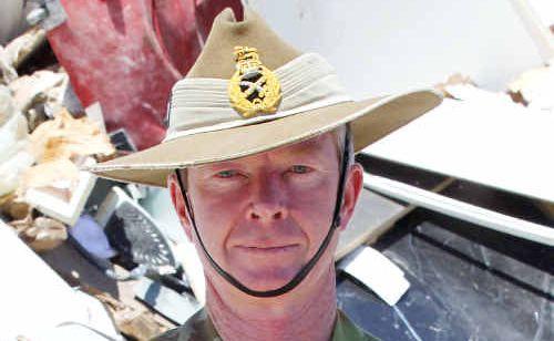 Major General Mick Slater.
