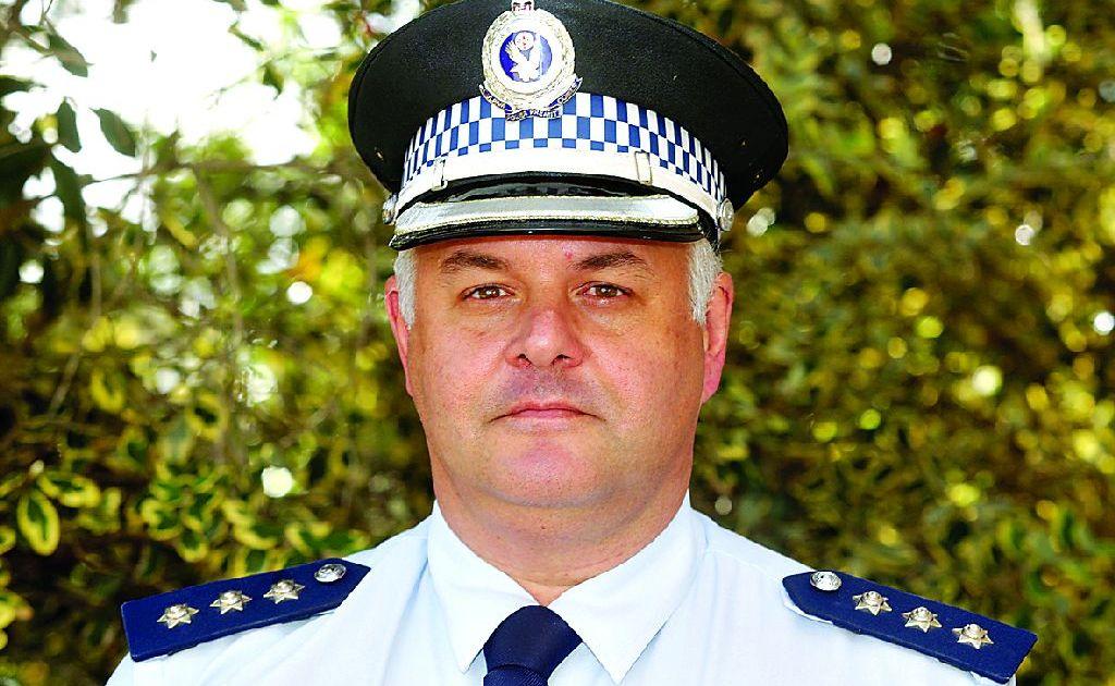 Inspector Darren Streel.