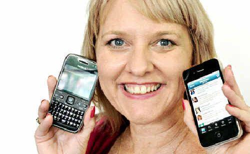 Social media fan Zoe Deluca.