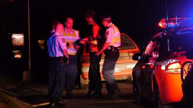 A driver was allegedly caught twice within a few hours for driving while disqualified.