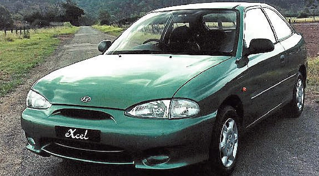 Police statistics show that the number of Hyundai Excels stolen has increased rapidly in recent months.