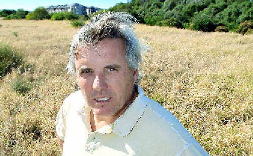 Casuarina Residents Association outgoing president Rob Bryant is waiting for developers to begin work on the Casuarina Town Centre.