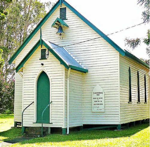 CHURCH CENTENARY: St Andrew's Presbyterian Church, Bonalbo will mark its 100th anniversary at the town's centenary celebrations.