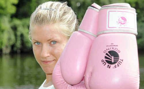 Since coming to the Sunshine Coast and taking up boxing, Malin Kirjonen has been marching up the rankings.