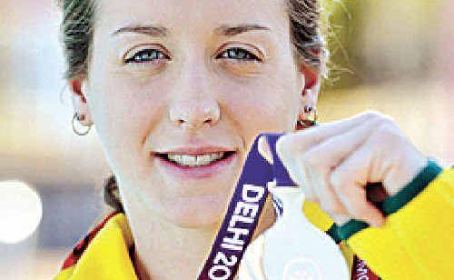 Commonwealth Games medallist Samantha Hamill.
