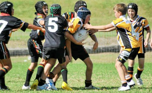 Primary School rugby league teams will take to Rex Hardaker Oval today for the Schubert Sevens Shield qualifying round.