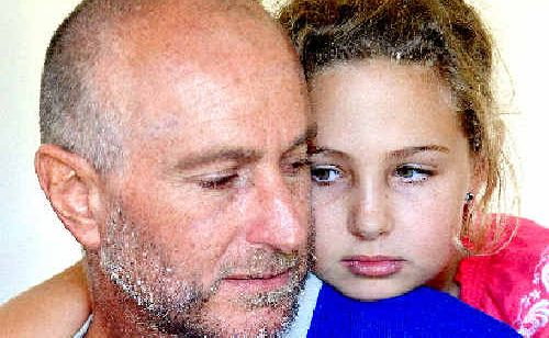Geoff and Kirra Anderson are devastated at the loss of their campervan.