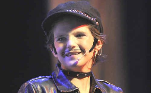 George has been an avid thespian since he was four.
