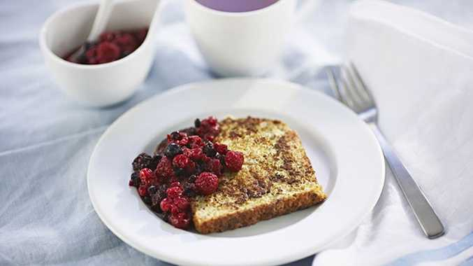 French toast is a sweet Mother's Day treat for breakfast in bed.