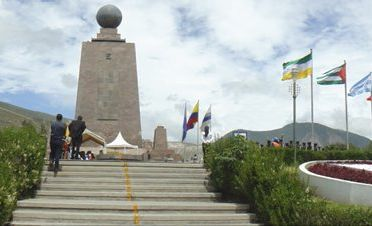A visit to the equator line in Ecuador will have you marvelling at the scientific wonders that happen on one side of the line or the other.