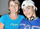 Nathan Tessmann loves his music and has the support of his mum Roz Rasmussen.
