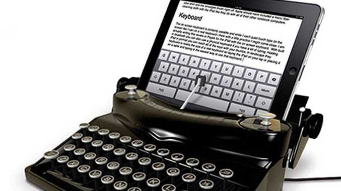 The Typescreen lets nostaglic iPad users reconnect with the old way of writing.