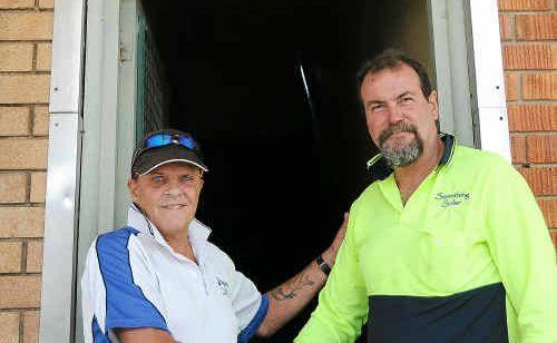 Life FM league caller Doug Graham thanks Scott Thomson from Something Solar.