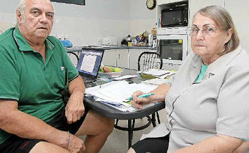 Pensioners Jim and Marion Lawler say too many of their counterparts are struggling to survive.