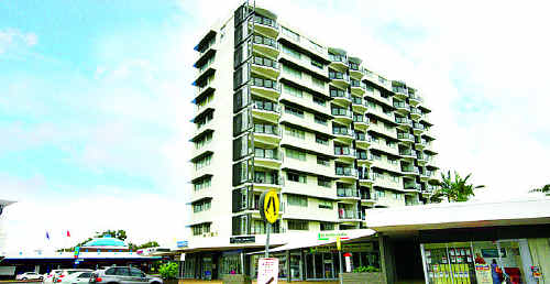 The Maroochy Sands on Sixth Avenue was the first high-rise building in Maroochydore.