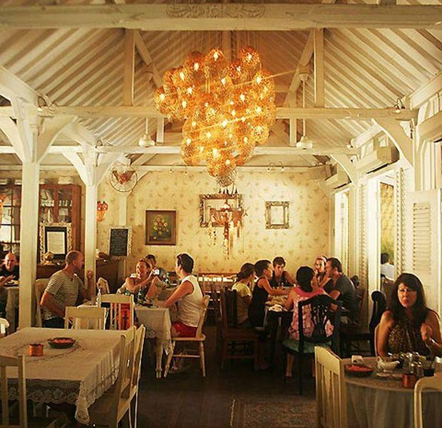 Cafe Bali in Seminyak, Bali.