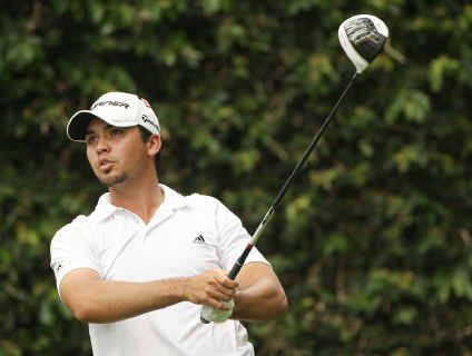 Former Rockhampton junior Jason Day is one shot off the lead in the US Open Golf Championship after playing the front nine on the final round.