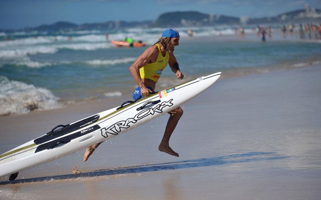 Australian Surf Lifesaving Titles At Kurrawa