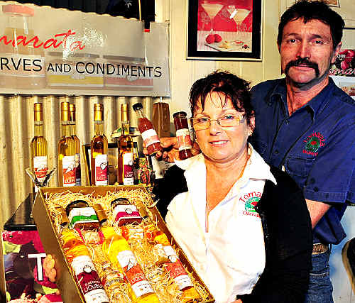 Kerry and John Pool make a number of products using their home-grown lychees.