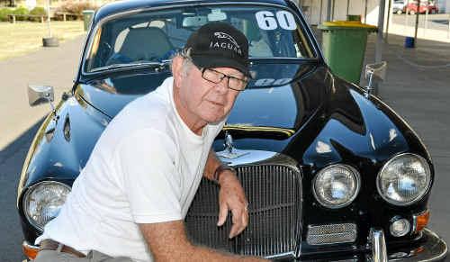 Brisbane driver Graham Hein is a sprints regular at Morgan Park Raceway.