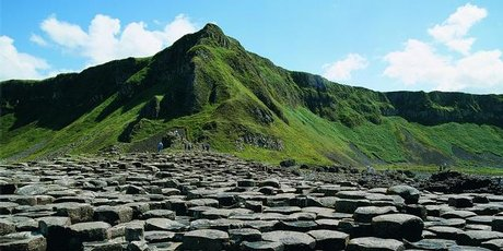 The Giant's Causeway in Northern Ireland was formed over 55 million years ago. Photo / Northern Ireland Tourism Board