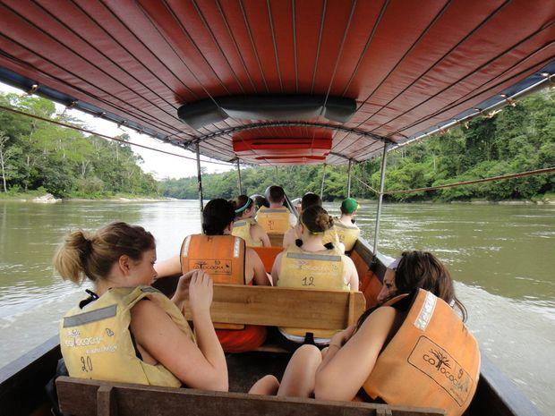 Canoe down the Napo River.