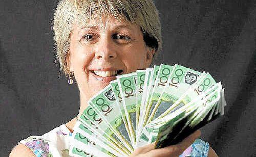 Rockhampton's Kathi Perry is hoping to pick the million dollar envelope tomorrow.