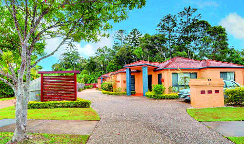 This duplex on Buderim Pines Drive offers the chance to downsize without compromise in a quiet location.