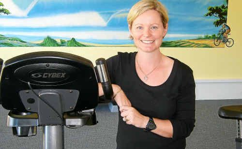 Aime Salkeld has moved her family to Yamba to take ownership of a business concerned with keeping people healthy.