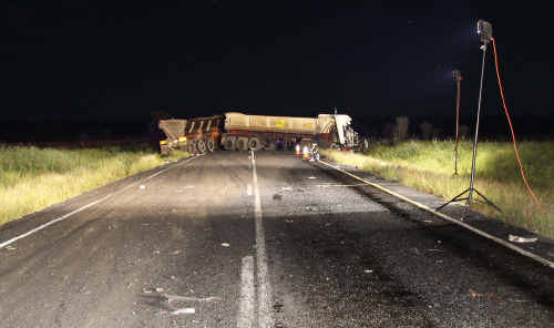 Warren Gattera, 40, of Beerwah, was killed in this central Queensland crash.