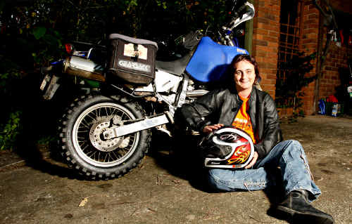 Narelle Rimmer has signed up for Scrapheap Adventure Ride, 1500klm, five-day trek to raise funds for Down Syndrome NSW.