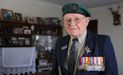 Vetran Frank Doyle, of Buddina, will attend Anzac memorial ceremony.