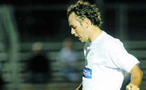 Frenchville defender Stuart Robson starred in his side's 5-1 win over Capricorn Coast on Saturday night.