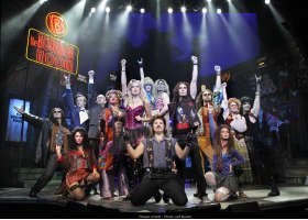 Glam rock musical tops awards list