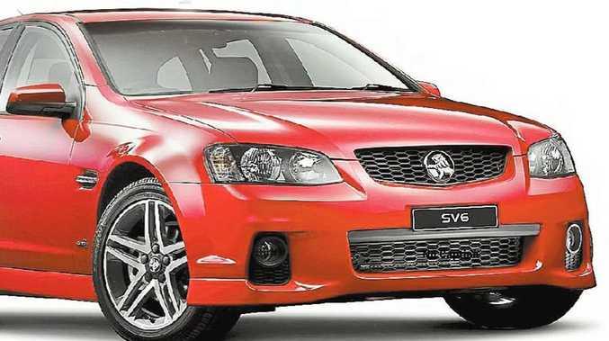 Holden Sportwagon SV6.
