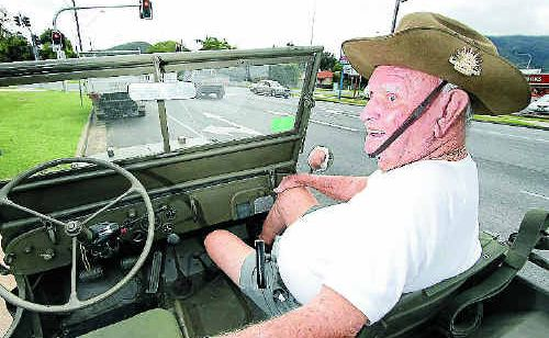 World War II veteran Bob Smith looks back on his days in the military. Bob will take part in Monday's Anzac Day march, when he will be driven by jeep.