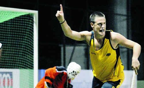 Matt Gohdes was the only Rockhampton hockey star named in the Australian Kookaburras squad.