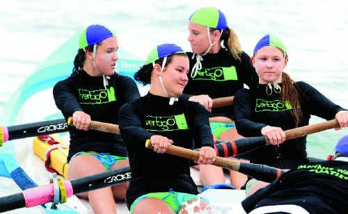 The North Coast Academy of Sport is calling for more athletes to join the likes of the Minnie Water Wooli girls' under-19 boat crew for the 2011-12 season.