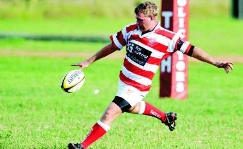 Grafton Redmen's Brett Graham, despite a successful switch to fly-half last week, will return to the back of the scrum for today's clash.