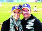 Shane Bradbury and new fiancée Tara Milzewski.
