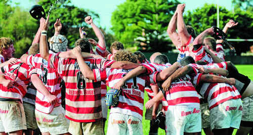 At last, the Grafton Redmen got their chance to sing the team song after downing Wollongbar-Alstonville 32-26 at home on Saturday.