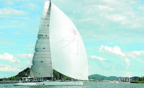 Lahana – the winner of the 2011 Brisbane to Gladstone Yacht Race.