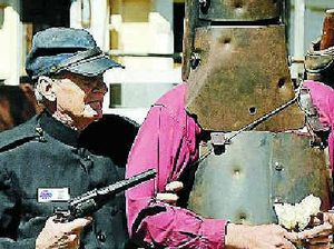 Ned Kelly steals show at festival