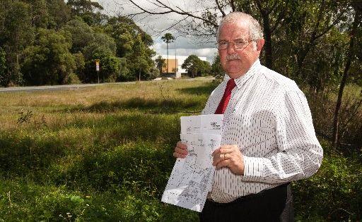 Kawana Forest Residents Association committee member Rod Burton.